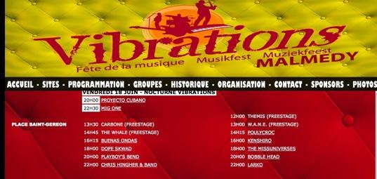 Vibration Festival MAlmedy